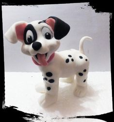 Dalmation puppy on all fours by Petra