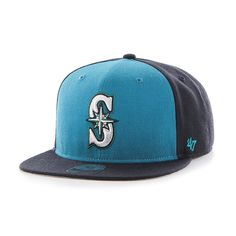 sale retailer 307a1 577ab Seattle Mariners Sure Shot Accent Captain Navy 47 Brand Adjustable Hat.  Detroit GameSeattle MarinersSnapbackSnapback HatsSnapback CapBaseball Hat