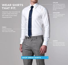 A solid guide to shirt fit
