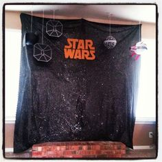 Star Wars party backdrop