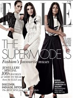 Gucci Cover - Elle India, February 2013