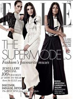 Gucci Cover - Elle India, February 2013