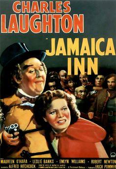 Jamaica Inn (1939) - Maureen O'Hara, Robert Newton, Charles Laughton