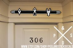 Navigation Bar Wall Decal Set by PeelAndStickDecals on Etsy, $35.00