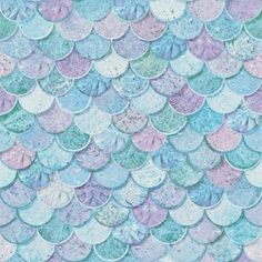 Arthouse Mermazing Scales Ice Blue Wallpaper Lowes.com