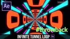 After Effects Tutorial: Retro Infinite Tunnel Loop