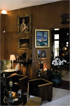 Yves Saint Laurent's apartment (rue de Babylone)