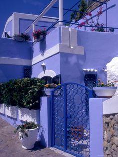 Ponza, Pontine Islands, Italy...stunning abode