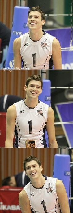 Guys who play Volleyball :) Matt Anderson