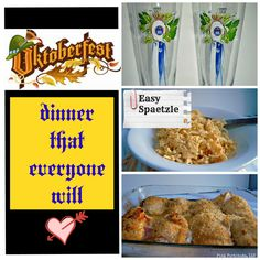 Oktoberfest Menu That Kids Will Like