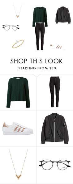 """""""casual"""" by ikatsamaki on Polyvore featuring Ryan Roche, adidas Originals, Louis Vuitton, Ray-Ban and EF Collection"""