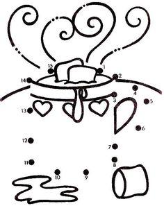 Actividades para niños preescolar, primaria e inicial. Fichas para niños para imprimir con dibujos para unir los puntos numerados para niños de preescolar y primaria. Unir puntos numerados. 31