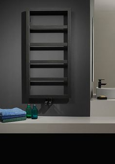 dual fuel towel heater anthracite - Google Search