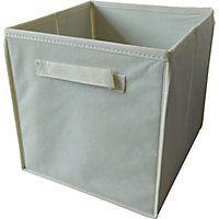 Non-Woven Storage Box - Cream