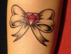 Cute Bow Tattoo by dorthy