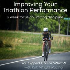 A guest post from Kelli Wright on Improving your Triathlon Performance!