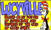 Lucyville font by Squaresville - FontSpace