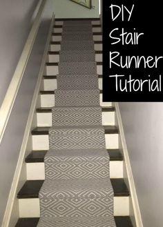 Merveilleux DIY Stair Runner