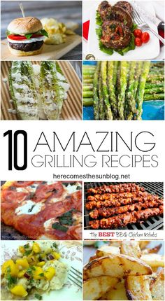10 Amazing Grilling Recipes that you MUST try this summer!