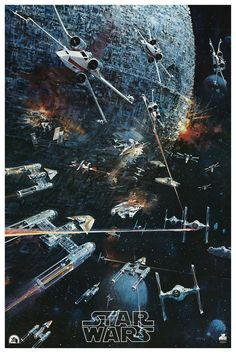I had this one as a kid!! ❤️ I wonder where it went to... rare star wars movie poster art https://www.bluehorizonprints.com.au/canvas-art/star-wars-art/