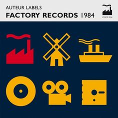 Various - Auteur Labels: Factory Records 1984 (CD) at Discogs