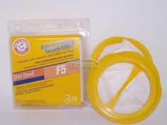 ARM & HAMMER Dirt Devil F5 Scorpion HV Filter Dirt Devil F5 Scorpion HV Filter.  #DirtDevil #Home