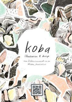 """다음 @Behance 프로젝트 확인: """"Koba illustration & design"""" https://www.behance.net/gallery/35191083/Koba-illustration-design"""