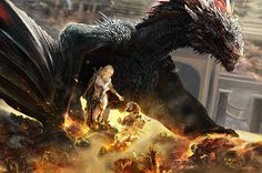 Daenerys Targaryen & Tyrion Lannister - Game of Thrones - Ertaç Altinöz