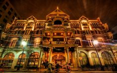 The most haunted building in Austin and the most haunted hotel in Texas -- perhaps the U.S... the Driskill Hotel. http://www.driskillhotel.com/