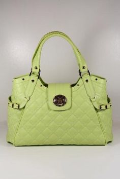 Versace Handbags Large Green Leather - A perfect daytime classy purse to match you casuals.