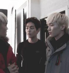 Onew (LOL) & Key (and Jonghyun)