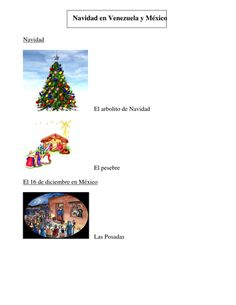 Christmas in Venezuela and Mexico OHT