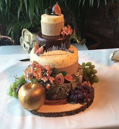 Newton Hall Wedding cheese cake Morpeth Cheese Company