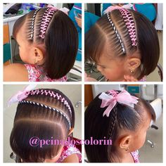 Les recordamos que en #colorin #peluquerias tenemos opciones bellas en cinta,cordón y trenzas solas para las #niñas de #cabello corto #girls #girl #hair #hairdo #hairstyles  #braids #braidsforgirls