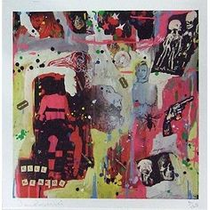 New Dan Baldwin Kill Kenada - Album Cover part of a Diptych Giclee Signed Limited Edition