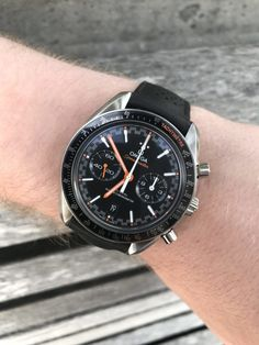 On the Wrist: The Omega Speedmaster Racing Master Chronometer