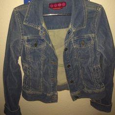 Chord Jean Jacket Comfy jean jacket style w pockets. Chord design 2nd photo. Glo Jackets & Coats Jean Jackets