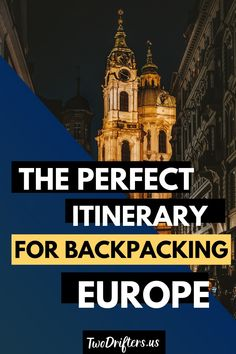 Planning a backpacking trip around Europe? What a dream! To create the ultimate itinerary, check out this 6-week plan for backpacking Europe, based on the trip I took myself in 2011! #Europe #EuropeTravel #BackpackingEurope #Backpacking #Travel #TravelEurope | Backpacking guide | backpacking tips | Europe on a budget | Backpack across Europe | Europe Itinerary