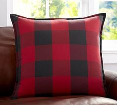 Buffalo Check Plaid Pillow Cover $35.50 #potterybarn It doesn't need to be from Pottery Barn I just would Like a couple of pillows in this pattern