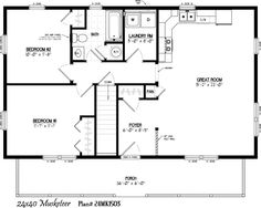 Floor Plans Small on single story house with loft