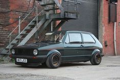 This forum has been great base for small block knowledge so in return I will share my new Golf small block turbo build with you guys. The turbo engine . Volkswagen Golf Mk1, Vw Mk1, Bugs, Ford Mustang Fastback, Custom Wheels, First Car, Ocean City, Old Cars, Vintage Cars
