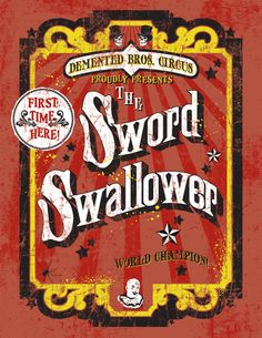 circus side show | Circus Sideshow Posters on Behance
