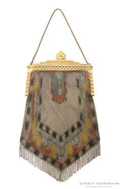 1930's mesh purse.