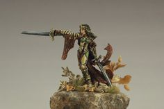 Kristianna, Crusaders Warlord by Reaper Miniatures