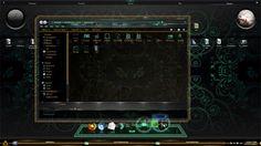 DeusNeo for win7 desktop themes - free desktop themes download