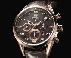 Tag Heuer Carrera Calibre 360 18KT Solid Rose Gold Limited Edition CV5041 W/ Box #TAGHeuer #LuxurySportStyles