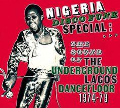 1970's-1980's African Funk & Disco Album Covers
