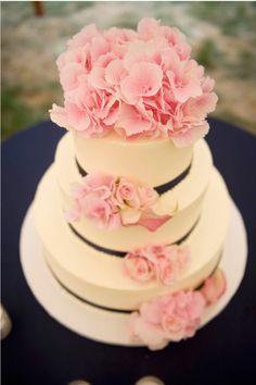Stunning floral cake