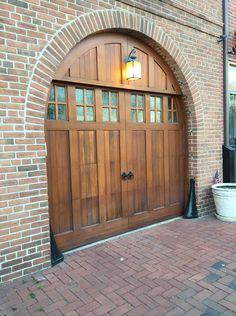 Row House Garage Door