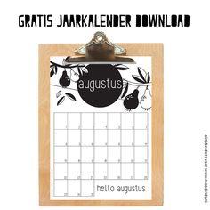Iedere maand kun je op onze website gratis een tijdloze & leuke maandkalender downloaden. OktoberDots heeft deze exclusief voor MoodKids gemaakt.
